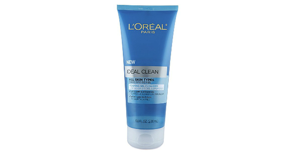 L'Oreal Face Wash on Amazon