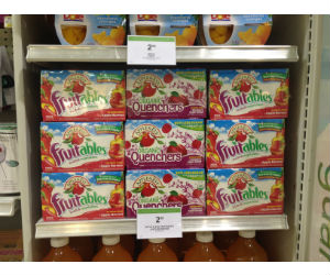 Apple & Eve Fruitables Juice Boxes at Publix