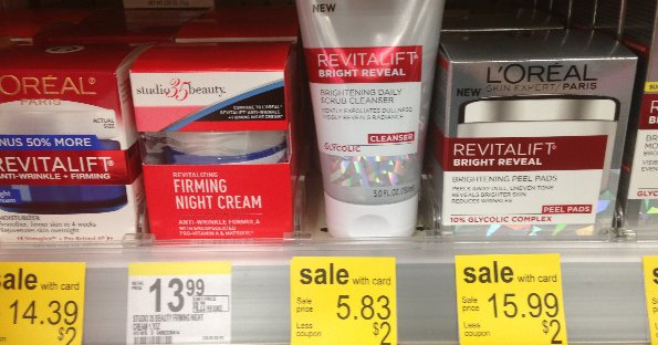 Revitalift at Walgreens