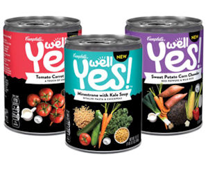 Campbell's Well Yes! Soup at Winn-Dixie