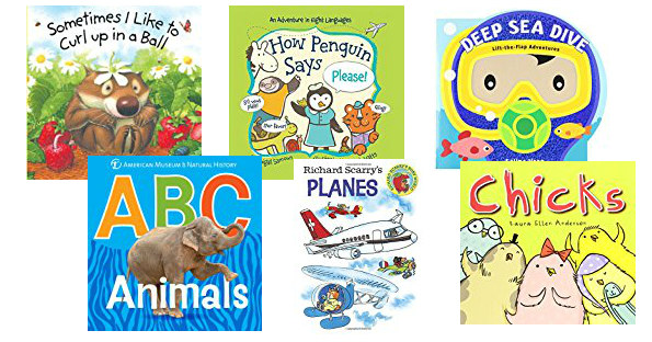 Board books on Amazon