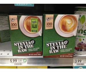 Stevia in the Raw at Publix