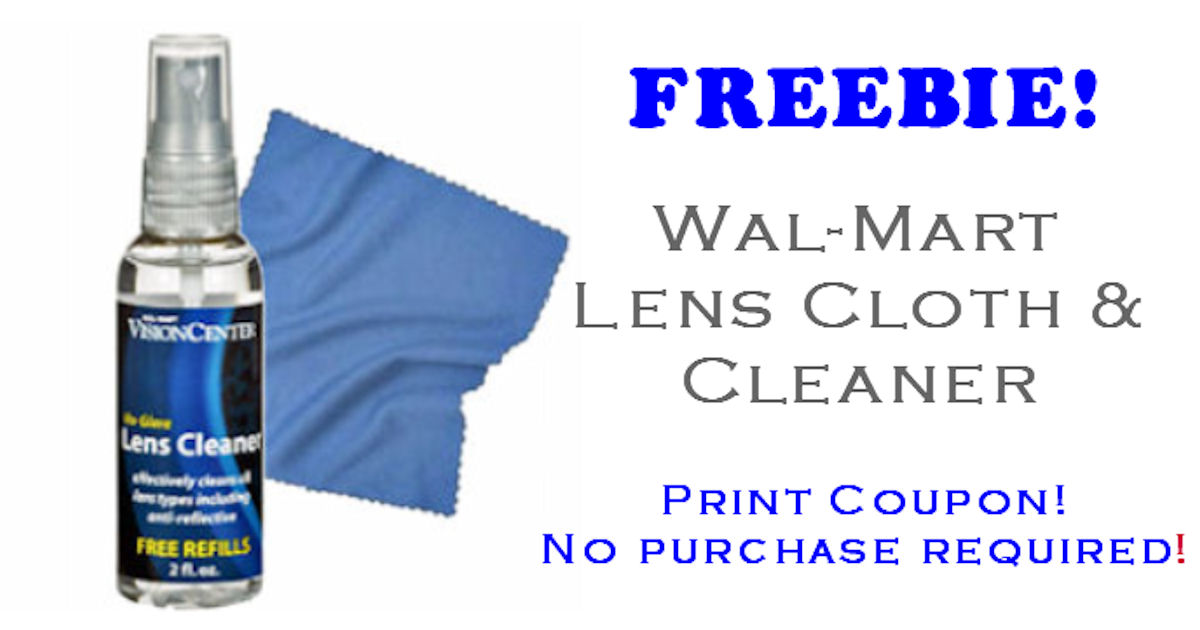 FREE Lens Cloth & Clea...