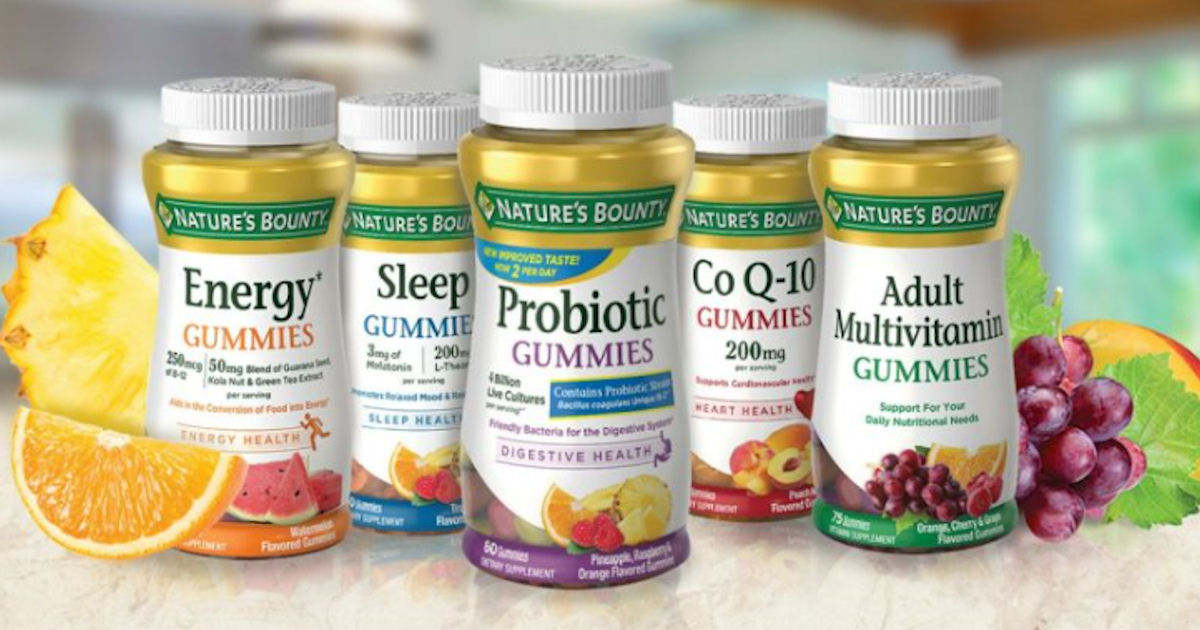 Earn Free Products with Nature's Bounty Rewards
