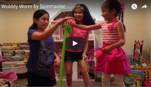 Family Fun With Wobbly Worm + Video