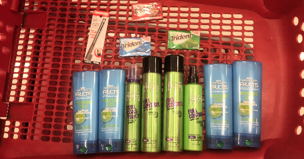 Trident and Garnier at Target