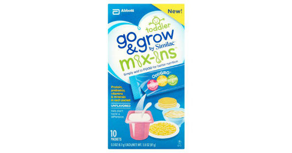 Similac Go & Grow Mix-ins at Target