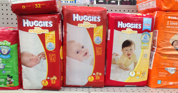 graphic relating to Printable Coupons for Huggies Diapers identified as Huggies at CVS for $3.99 Each and every - Printable Coupon codes