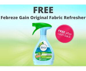 FREE Febreze Gain Original Fre...
