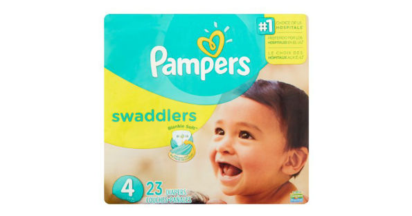Pampers at Walmart