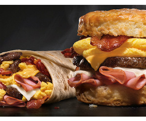 photograph about Hardee's Printable Coupons identify Hardees BOGO Totally free Aporkalypse Burrito or Biscuit Coupon
