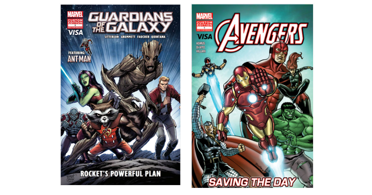 FREE Guardians of the Galaxy &...