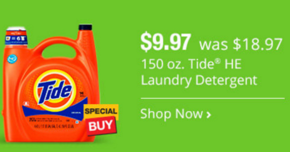 Tide Liquid Laundry Detergent at Home Depot