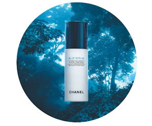 Free Sample of Chanel Blue Serum Skincare