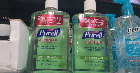 photograph regarding Purell Printable Coupons referred to as Purell Hand Sanitizer at Walmart for $0.67 a Bottle