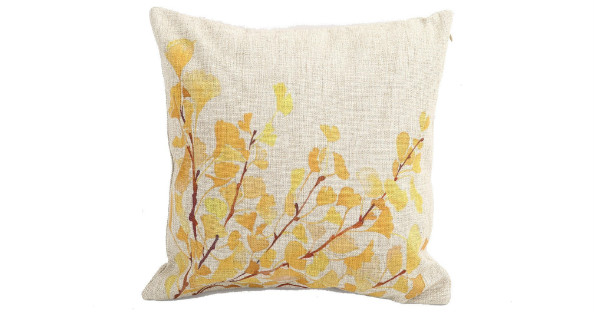Flower Throw pillow case on Amazon