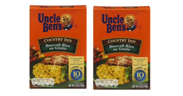 Uncle Ben's Rice at Dollar Tree