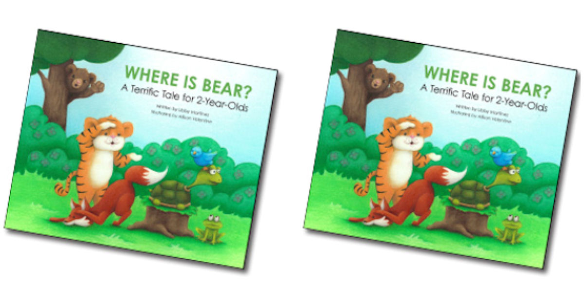 FREE Where is Bear Book