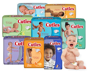 FREE Sample of Cuties Diaper..