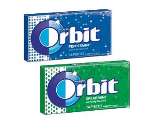 Orbit Gum at Walgreens