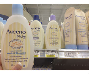 Aveeno Baby Wash and Shampoo at Publix