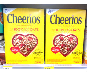 Cheerios at Walgreens