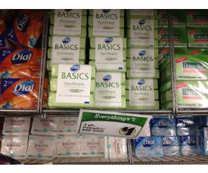 Dial Basics Bar Soap at Dollar Tree