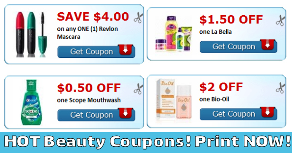 SUPER HOT Revlon and Beauty Coupons