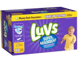 Free Luvs Diapers with TopCashback - Free Product Samples