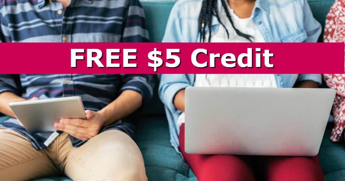 FREE $5.00 to Get You Started.