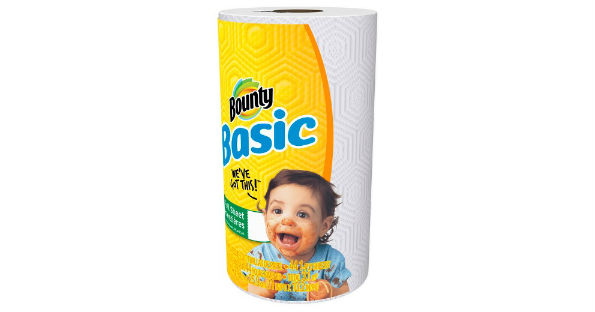 Bounty Basic Paper Towels at Dollar General