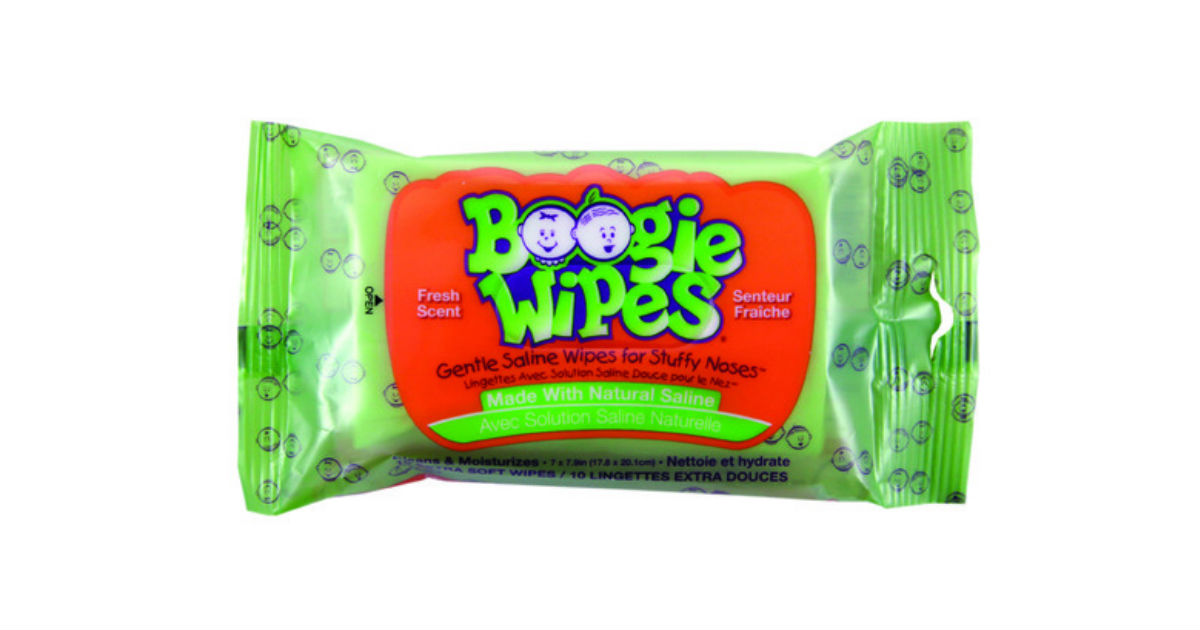 Boogie Wipes at Dollar Tree