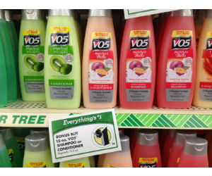VO5 Shampoo and Conditioner at Dollar Tree