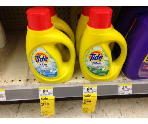 Tide Simply at Walgreens