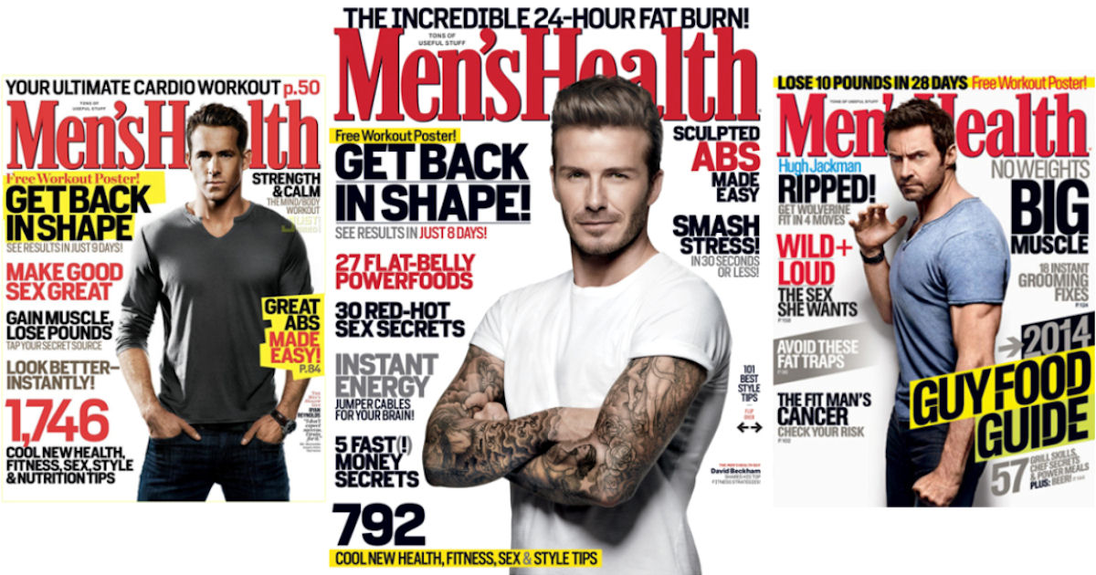 FREE Subscription to Men's Hea...