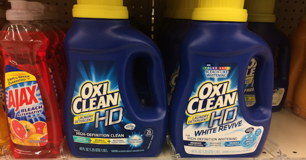 OxiClean Laundry Detergent at Walgreens